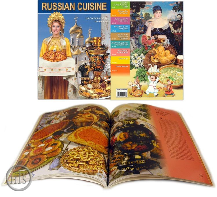 Picture - Russian Cuisine, 128 Colour Plates, 130 Recipes
